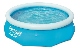 Pileta Inflable Familiar Bestway 57265 244x66 Cm 2100 Lts