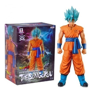 Goku Ssj God Blue Banpresto Master Star Piece Importado