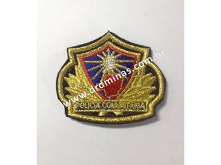 Patch / Distintivo Bordado Policia Comunitaria - I