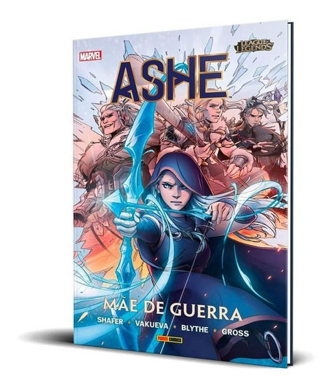 League Of Legends - Ashe - Mãe De Guerra