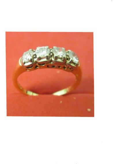 Anillo Dama Churumbela Oro 14 Kilates Diamantes Naturales.