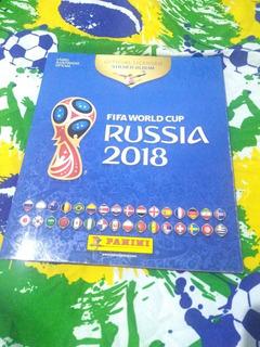 Album Da Copa Da Russia 2018 Capa Mole , Completo