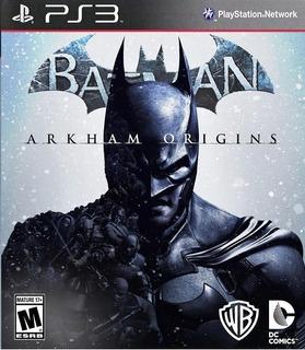 Batman: Arkham Origins Digital Latino Ps3