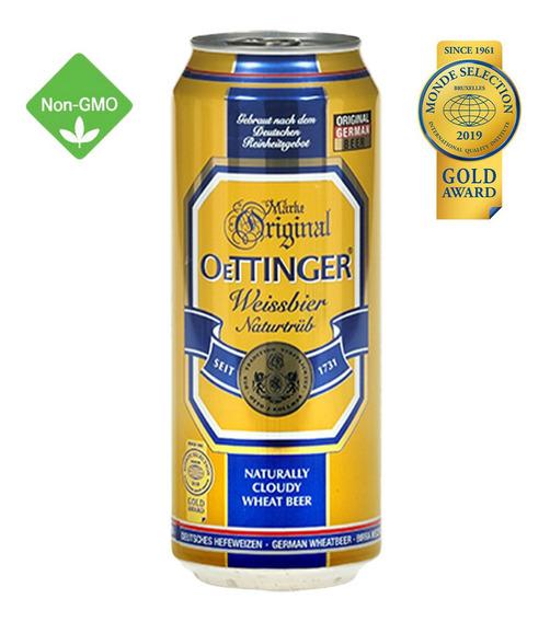 Cerveza Oettinger Weissbier Naturtrüb 500ml