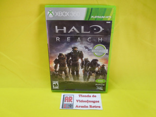 Halo Reach Xbox 360 *compatible Con Xbox One*