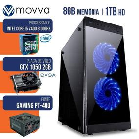 Computador Gamer Intel I5 7400 3.0ghz 8gb Gtx 1050 2gb