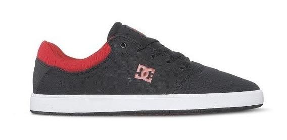 Tênis Dc Shoes Crisis Tx La Preto Vermelho Oferta