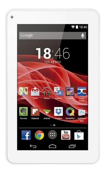 "Tablet Multilaser M7S 7"" 8GB branco com memória RAM 512MB"