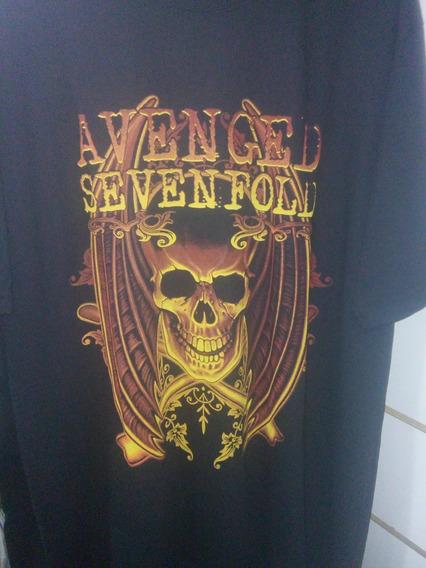 Camisa Avenged Sevenfold A7x (disturbed/good Charlotte) Rock