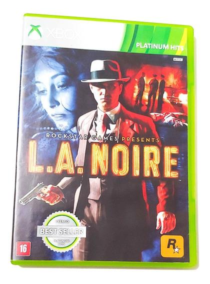 L.a Noire Xbox 360 Original Mídia Física