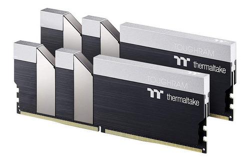 Imagen 1 de 3 de Kit Memorias Ram Gamer Thermaltake Toughram 3200mhz 16gb 2x8