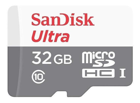 Cartão De Memória Sd 32gb Sandisk Ultra Class 10