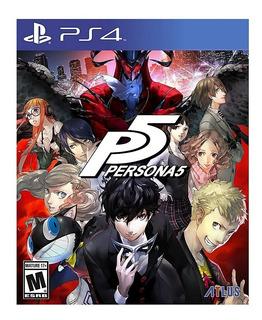 Persona 5 Ps4 Hits Nuevo Fisico Sellado Envio Gratis