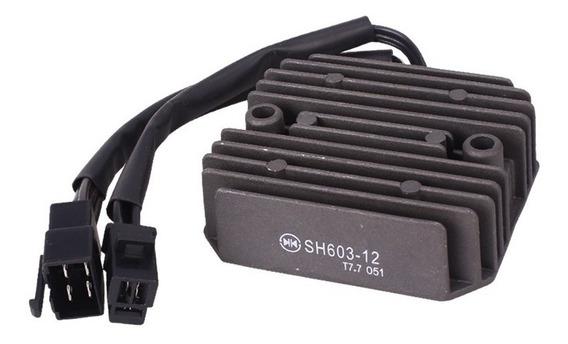 Retificador Bateria Shadow 600 94 A 05 Regulador Voltagem