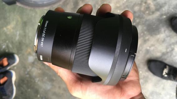 Lente Sigma 16mm 1.4 Para Sony