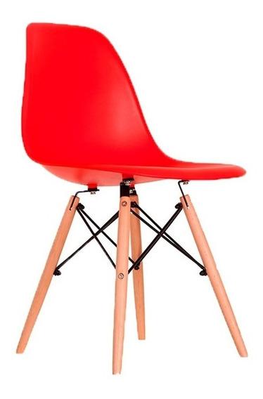 Cadeira Charles Eames Wood Design Eiffel Várias Cores