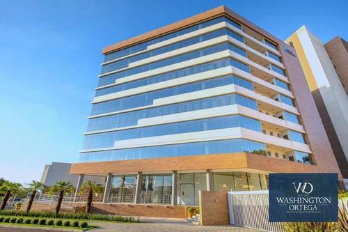 Imagem 1 de 8 de Sala Comercial À Venda, 98 M² Por R$ 565.300 - Centro - São José Dos Pinhais/pr - Cj0068