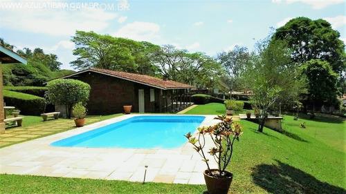 Casa/chácara De Condomínio Em Atibaia Com 4.000 M² De Terreno, No Condomínio - Ch03503 - 33736022