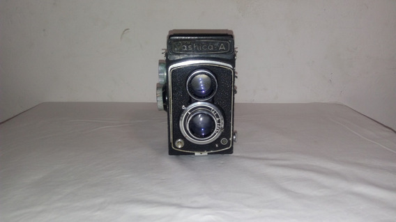Antiga Maquina Fotográfica Yashica-a R