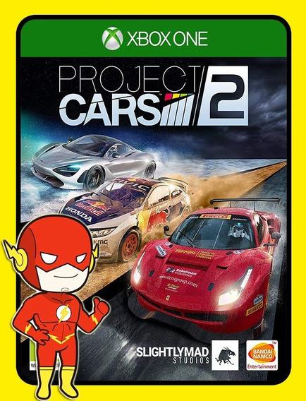 Project Cars 2 Xbox One - 25 Dígitos (envio Flash)