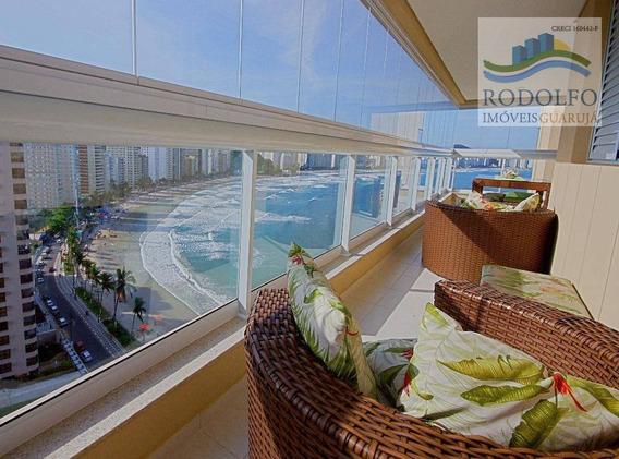 Apartamento À Venda, 121 M² Por R$ 850.000,00 - Praia Das Astúrias - Guarujá/sp - Ap0356