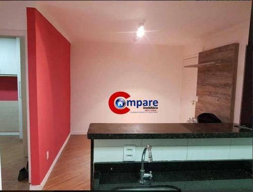 Apartamento Com 2 Dormitórios À Venda, 45 M² Por R$ 175.000 - Bonsucesso - Guarulhos/sp - Ap9700