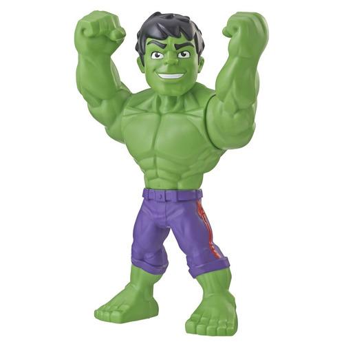 Imagem 1 de 1 de Nova Figura Marvel Super Hero Adventures Hulk Hasbro