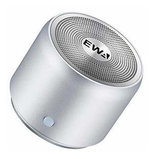 Ewa A106 Mini Altavoz Portátil Bluetooth, Sonido Mejorado De
