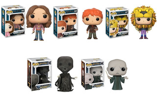 Combo 4 Funko Pop Originales - Harry Potter