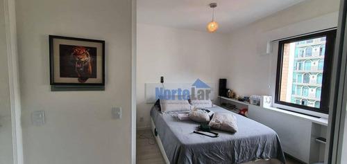 Imagem 1 de 13 de Flat Com 1 Dormitório À Venda, 35 M² Por R$ 470.000,00 - Jardim Paulista - São Paulo/sp - Fl0001