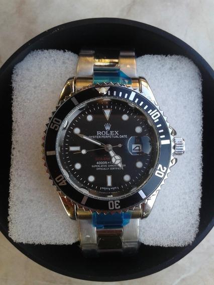 Submariner Black Com Caixa - Relogio Masculino
