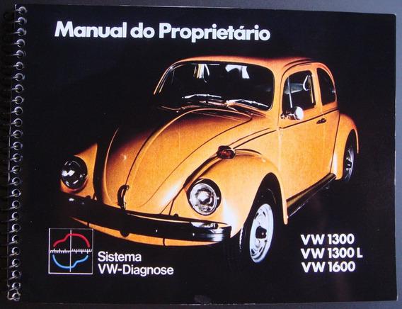 Manual Do Proprietário Fusca 1975