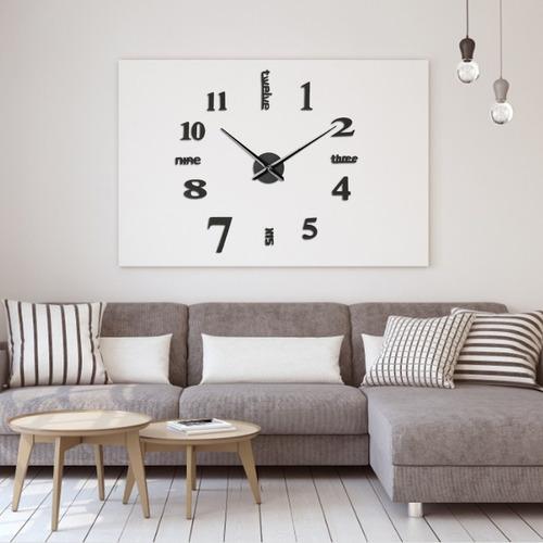 Reloj Acrílico De Pared Digital 3d Luminoso