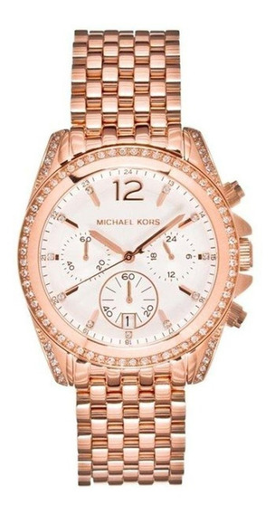 Relógio Michael Kors Feminino Pressley Cronógrafo Mk5836