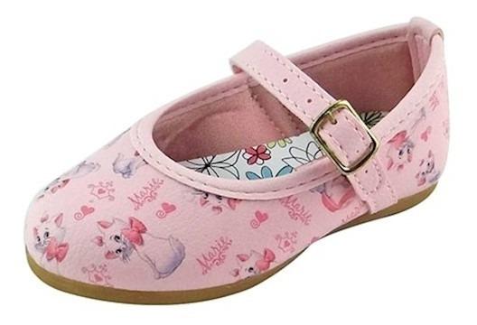 Sapato Boneca Baby Marie - Rosa