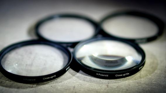 Kit Filtros Macro (close-up) Polaroid 67mm (+1/+2/+4/+10)