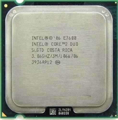 Kit 4gb Memoria Ddr2 (2x2) 800mhz + Core 2 Duo E7600 Lga775