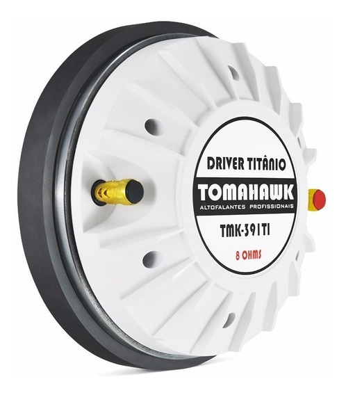 Driver Tomahawk Titânio Tmk 391ti 2 Polegadas Alta Pressão!