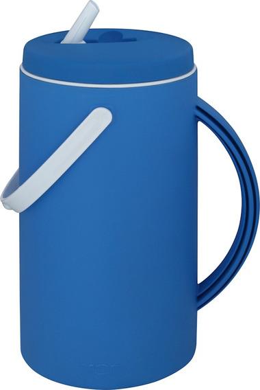 Jarra Térmica Nativa Azul Mor 2,5 L Garrafa Suco Aguá Café