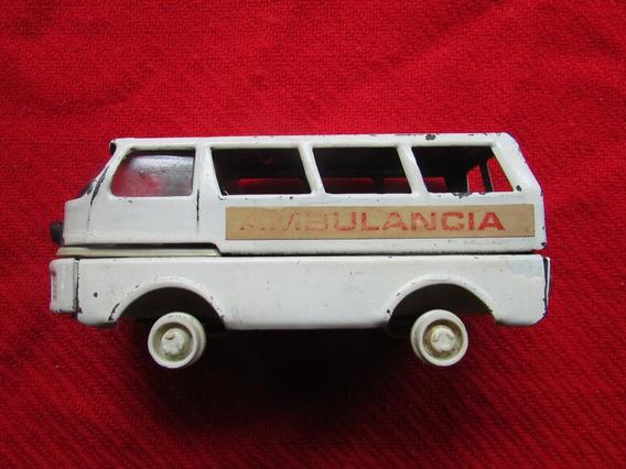 Ambulancia De Chapa Antigua (12-218d)
