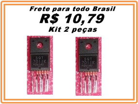Sqt7011k Sqt 7011k 7011k 7011 K - Transistor Kit 2 Peças