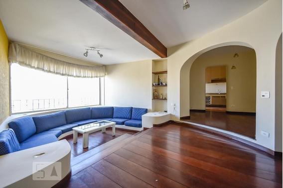 Apartamento No 13º Andar Mobiliado Com 2 Dormitórios E 2 Garagens - Id: 892970387 - 270387