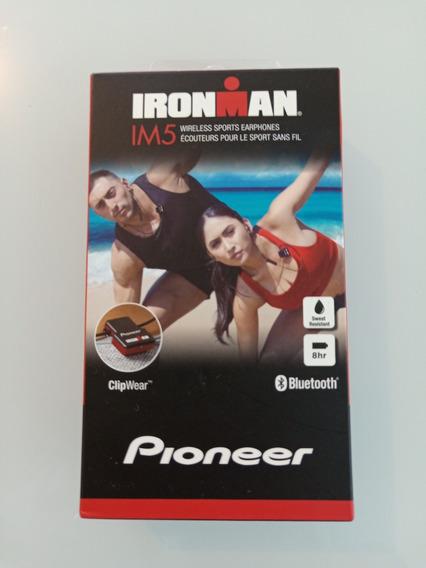Pioneer Ironman Im5 Fone De Ouvido Bluetooth Sport Lacrado