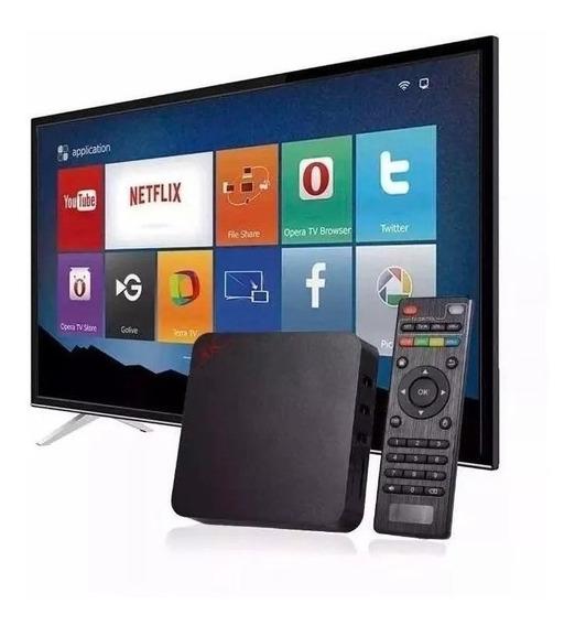 Conversor Smart Tv 3gb Ram 16gb Netflix Globo Play Youtube