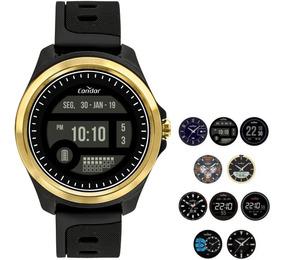 Relógio Condor Masculino Digital Dourado Cokw05caa/8d