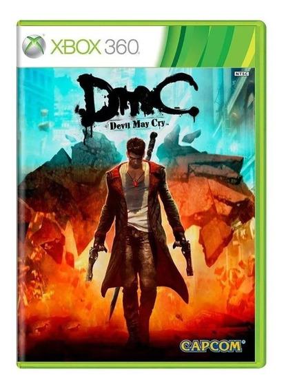 Dmc Devil May Cry Xbox 360 Mídia Física Pronta Entrega