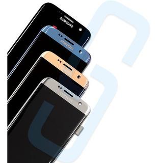 Frontal Tela Touch Samsung S7 Edge C/aro Original + Película