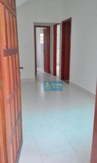 Casa Com 2 Dormitórios Para Alugar Por R$ 1.000/mês - Tude Bastos (sítio Do Campo) - Praia Grande/sp - Ca0081