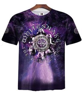 Remera Zt-0153 - Whitesnake Purple Album