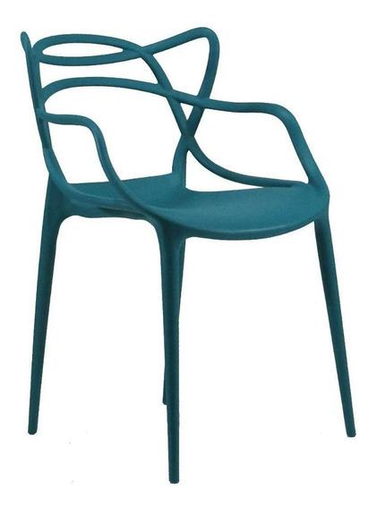 Cadeira Byartdesign Mix Turquesa